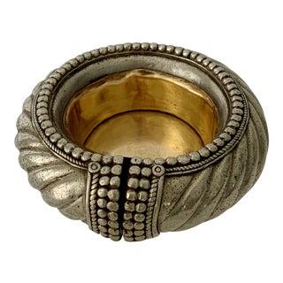 Dhokra Ethnic Traditional Ankle Bangle Bracelet Ashtray Vide Poche For Sale