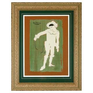 After Pablo Picasso Le Petite Pierrot Lithograph