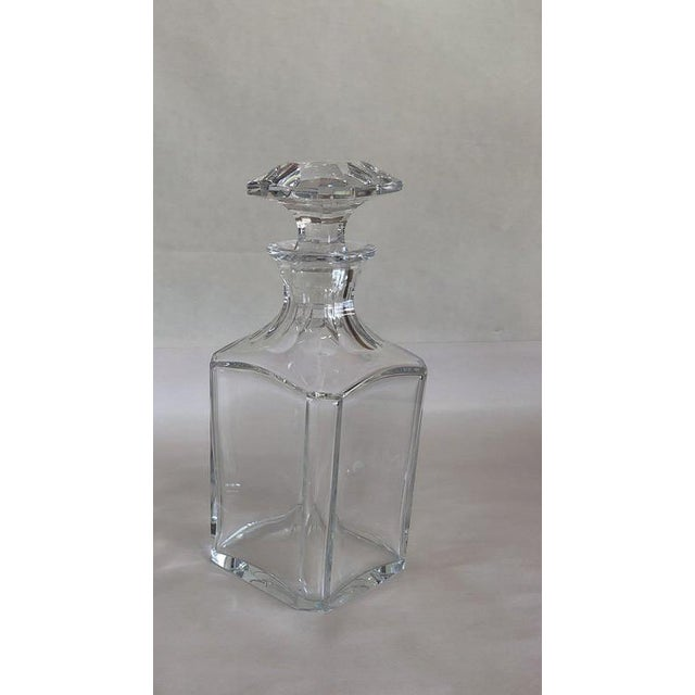 Baccarat Crystal Decanter For Sale - Image 10 of 10