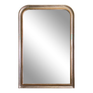 Mid 19th Century Louis Philippe Gilt Mirror For Sale