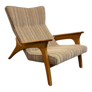 1960s Vintage Adrian Pearsall Lounge Chair For Sale