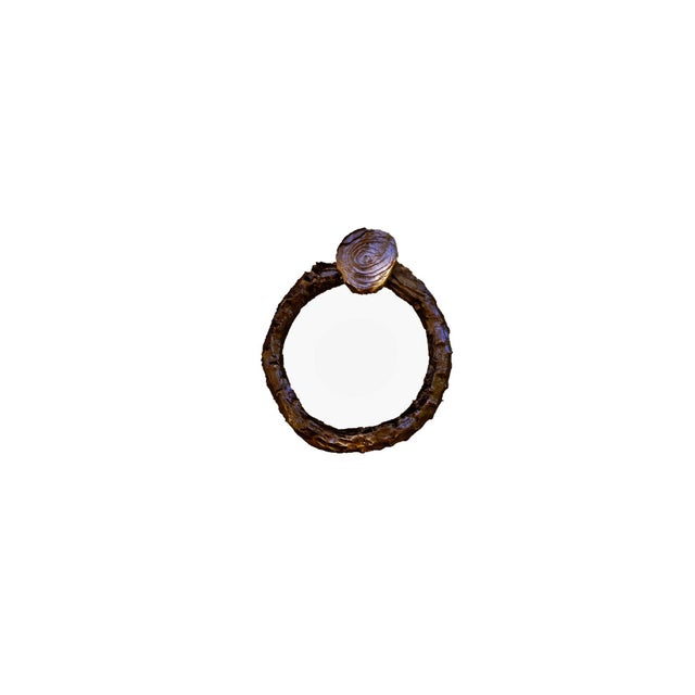 Cabin Lodgepole Branch Pull-Ring Style, Traditional Patina For Sale - Image 3 of 4