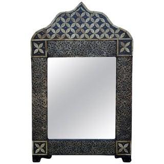 Moroccan Marrakech Rectangular Inlaiy Mirror For Sale