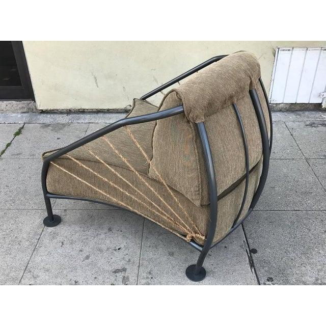 Steel & Metal Prototype Chair For Sale - Image 4 of 6