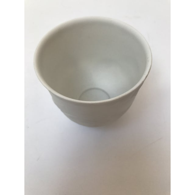 Contemporary Lladro White Cup With Dolphins For Sale - Image 3 of 6
