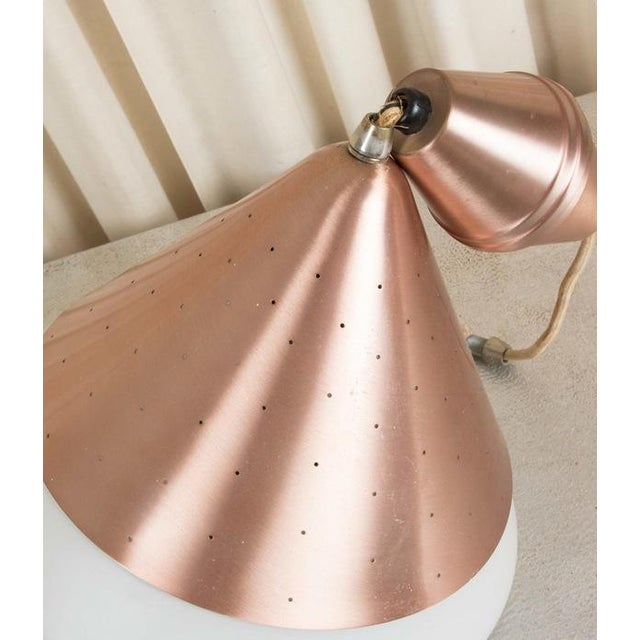 Mid-Century Atomic Copper Pendant - Image 8 of 9