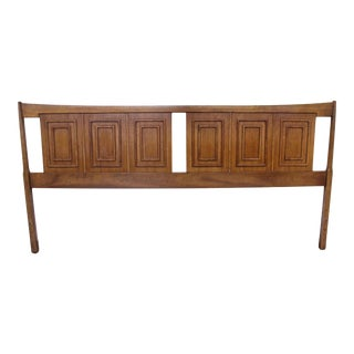 Mid-Century Modern Broyhill Sculptra King Size Headboard For Sale