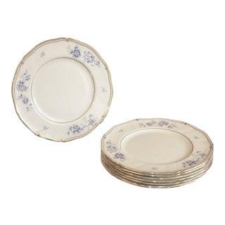 Ashbury Wedgwood Bone China Salad Plates, Made in England - Set of 8 For Sale