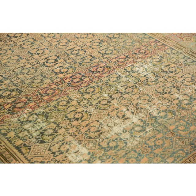 "Vintage Distressed Malayer Carpet - 7' X 10'2"" For Sale - Image 12 of 13"