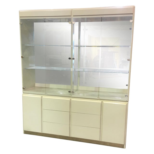 Large Vintage Wall Display Unit Milano by Stanley - Image 1 of 11