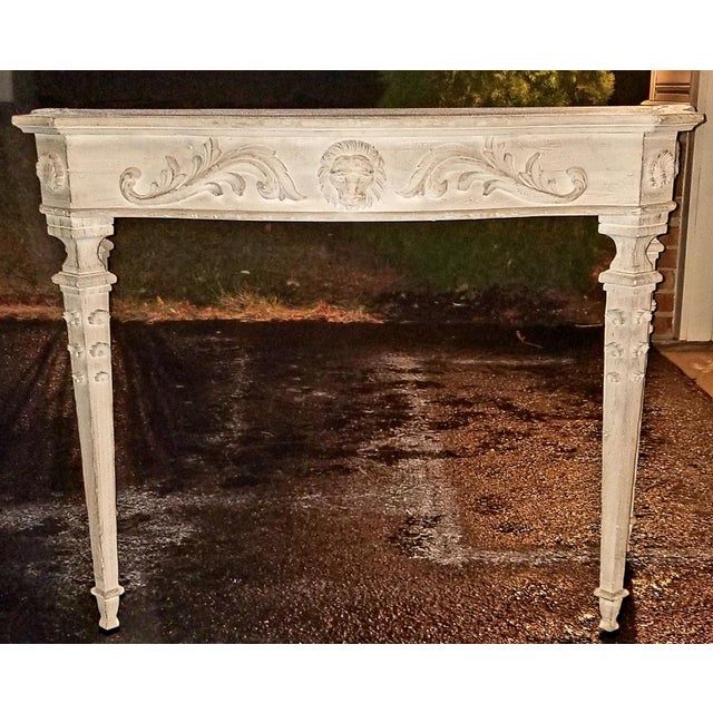 Modern History Hand Carved Italian Console - Image 2 of 4