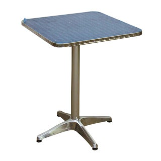 Nickel Cafe Table For Sale