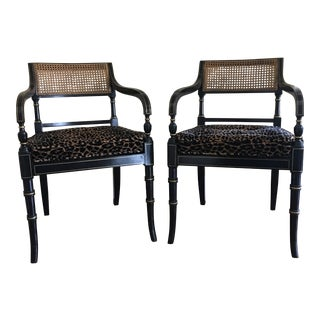 Traditional Chairs- a Pair For Sale
