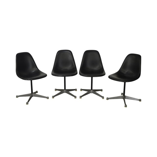 Herman Miller Set of 4 Mid Century Modern Eames PSC Chairs - Image 13 of 13