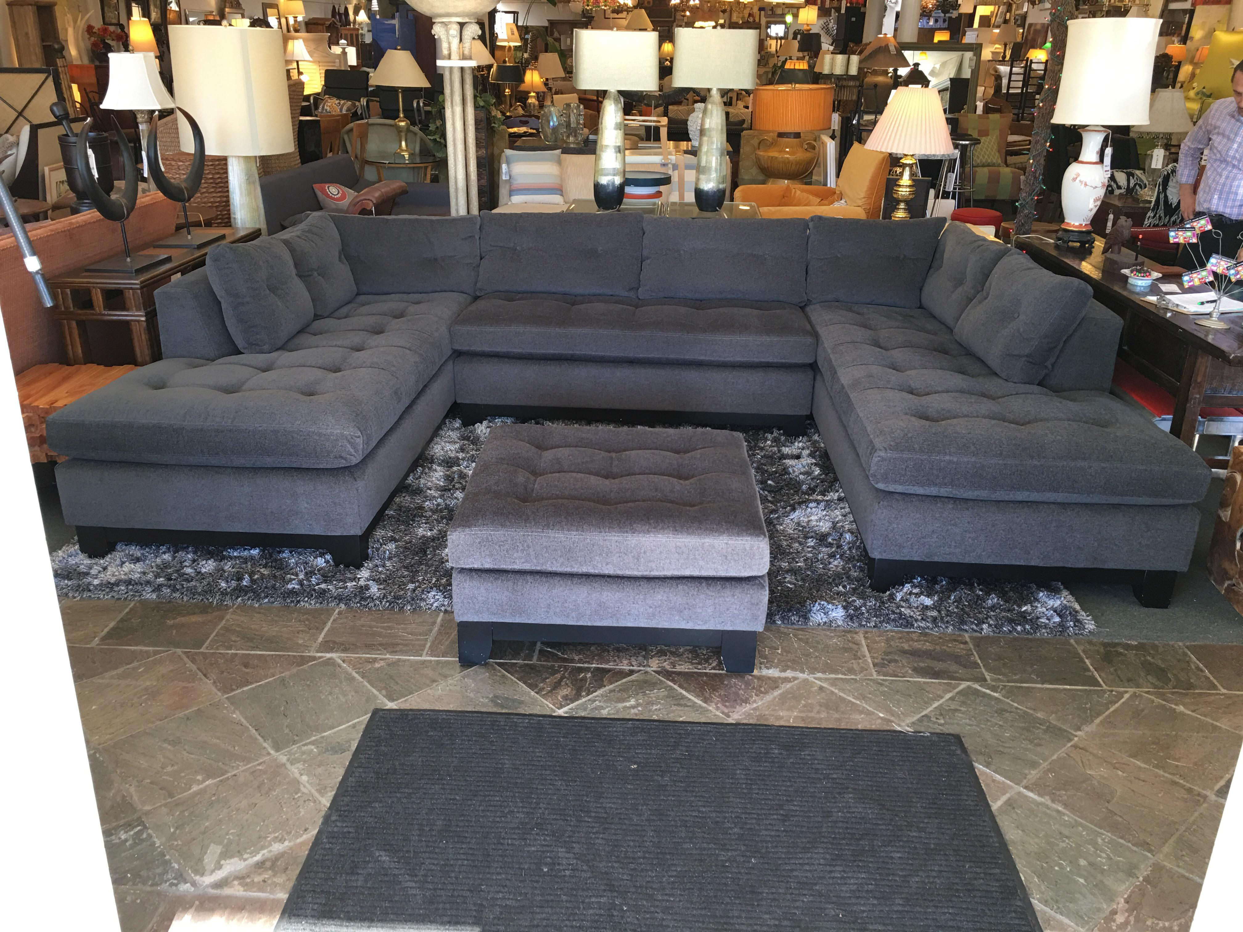Design Plus Gallery Presents A Beautiful, Large Sectional Sofa Big Enough  To Hold A Group