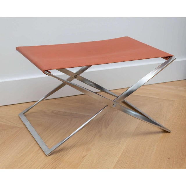 "Poul Kjaerholm ""Pk91"" Folding Stool - Image 2 of 10"