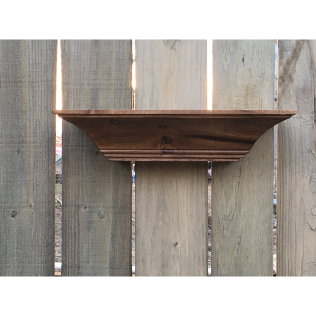A beautiful crown molding shelf made of solid poplar hardwood. Red chestnut stained and sealed. Versatile with numerous...