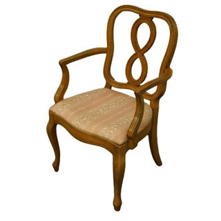 1960s Vintage Thomasville Furniture Tableau Collection Dining Arm Chair Preview