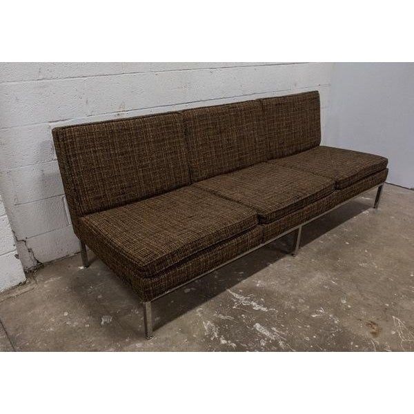Helkion Mid Century Tweed Sofa - Image 2 of 9