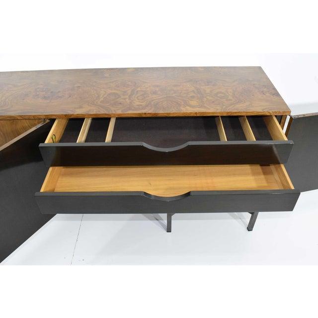 Roger Sprunger for Dunbar Burled Olivewood Sideboard or Credenza For Sale - Image 11 of 13