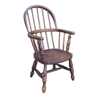 Antique English Child's Windsor Chair