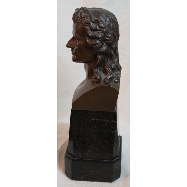 Early 20th Century Vintage Schiller Bust For Sale - Image 5 of 7