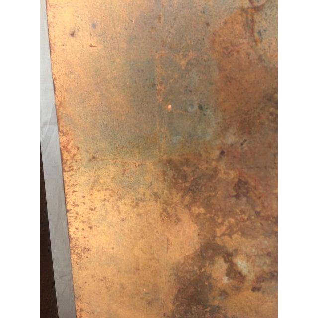Faux Copper Finish Pedestals - Image 5 of 5