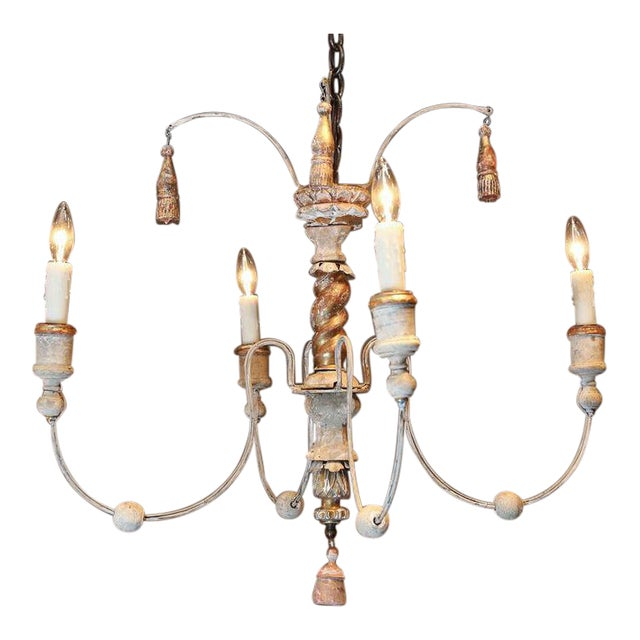 Lovely small french chandelier decaso small french chandelier image 1 of 4 aloadofball Gallery