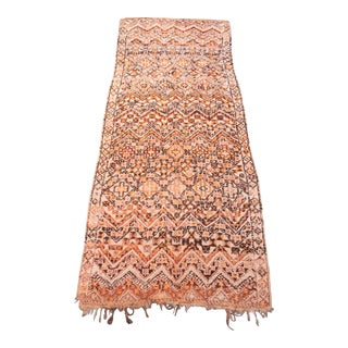 Antique Moroccan Beni Ourain Rug For Sale
