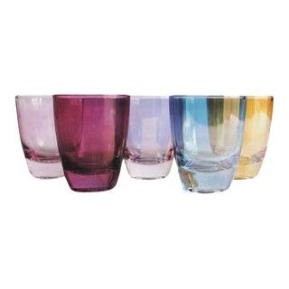Vintage Shot Glasses, Set of 5 For Sale