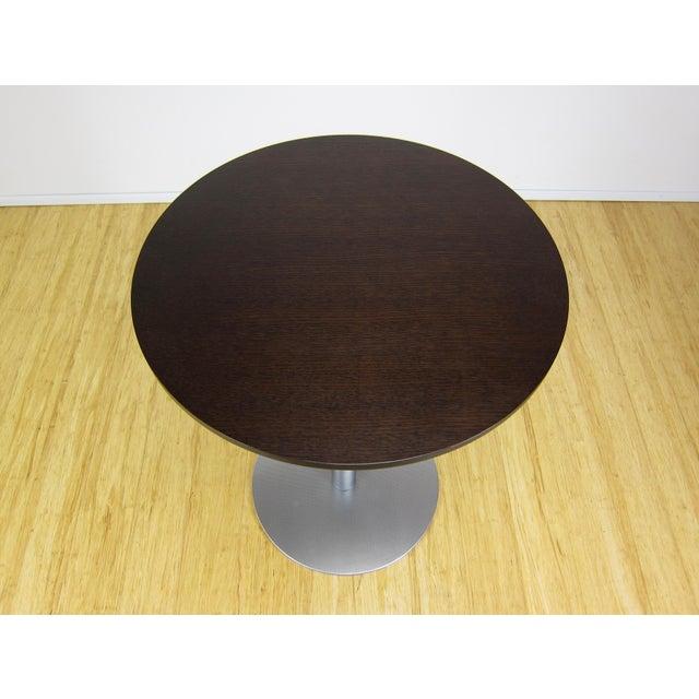 """2000 - 2009 Contemporary Romano Marcato Lapalma """"Brio"""" Bistro/Bar Table For Sale - Image 5 of 10"""