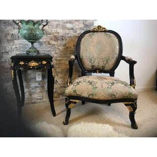 Modern Accent Chair French Long Seated Chair Preview