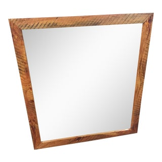 Reclaimed Sawmill Lumber Mirror For Sale