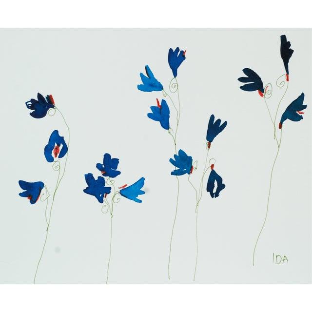 Blue Wildflowers Multimedia - Image 1 of 2