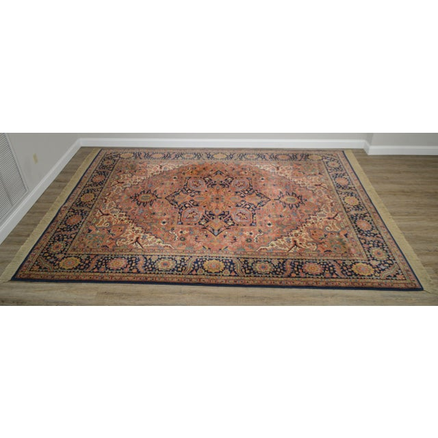 High Quality American Made Multicolor Rug - Heriz 726 Pattern Not Labeled