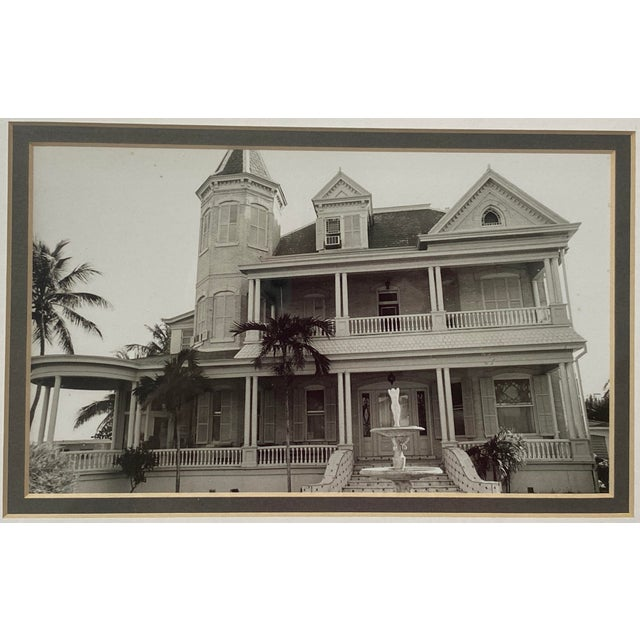 Mid-Century Photograph of Key West's Southernmost House in America For Sale - Image 4 of 9