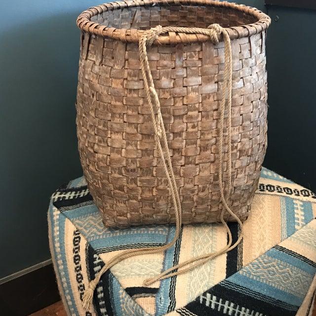 Antique Chinese Basket - Image 6 of 9