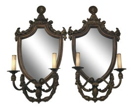 Image of Mirror Candle Wall Sconces
