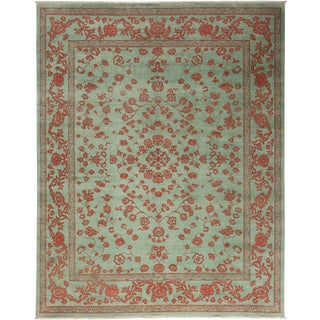 "Shalimar, Hand Knotted Area Rug - 8' 3"" x 10' 3"" For Sale"