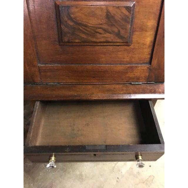 19th Century Early American Eastlake Oak Ladies Desk For Sale - Image 4 of 5
