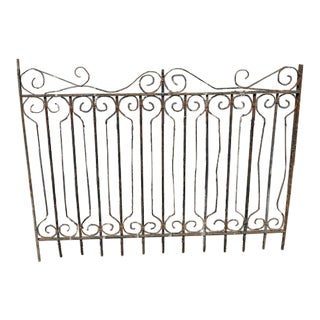 Antique French Garden Gate For Sale