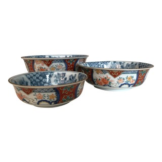 Nesting Japanese Bowls - Set of 3 For Sale
