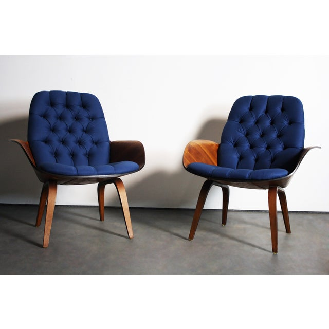 George Mulhauser for Plycraft Lounge Chairs - Pair - Image 5 of 11