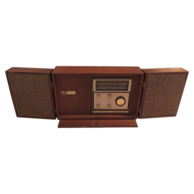 Mid-Century General Electric Folding Speaker Radio - Image 1 of 7