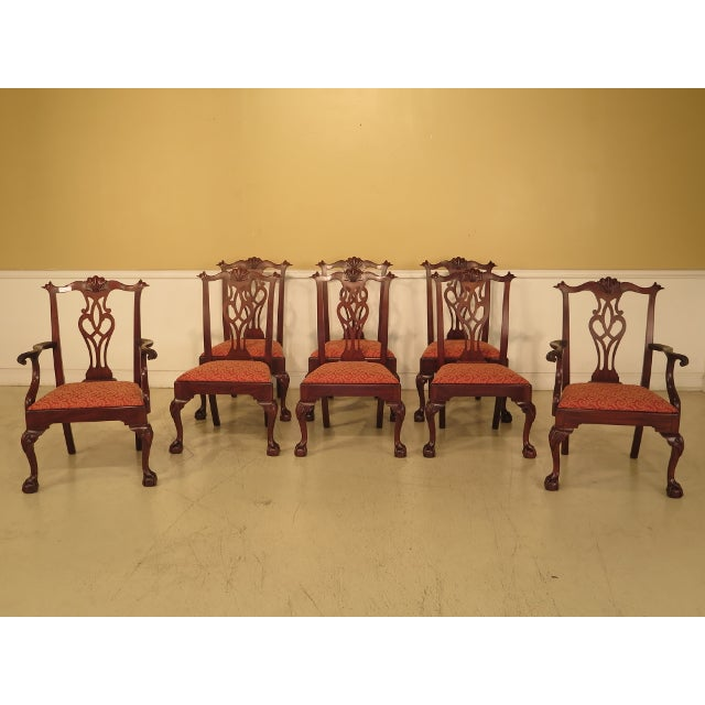 Henkel Harris Dining Room Furniture: 43475e Henkel Harris #112 Ball & Claw Mahogany Dining Room