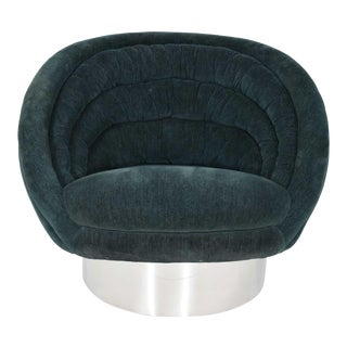 Vladimir Kagan Crescent Chair For Sale