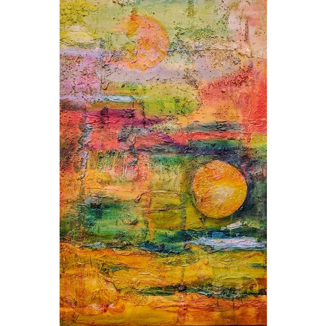 Terra Firma Abstract Painting For Sale