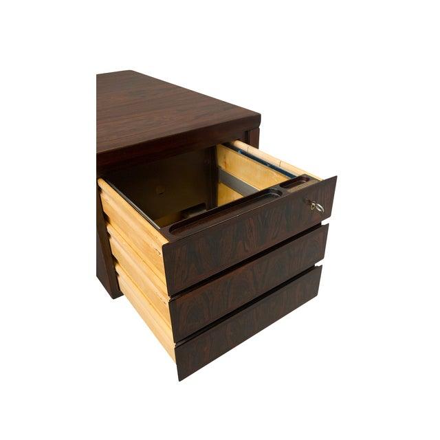 Danish Rosewood Desk by Gunni Omann - Image 5 of 9