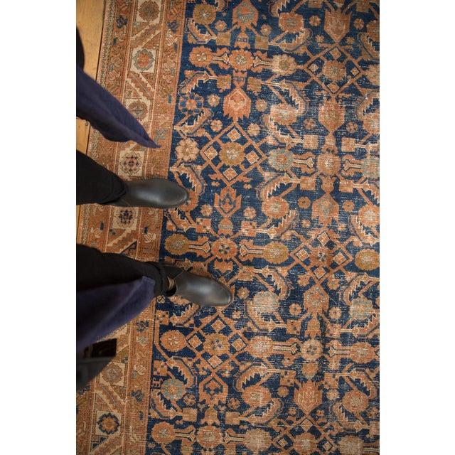 "Vintage Hamadan Rug Runner - 5'1"" X 13'1"" For Sale - Image 11 of 13"