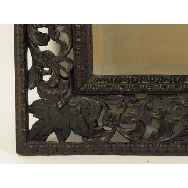 19th Century Rococo Style Mirror For Sale In Boston - Image 6 of 7